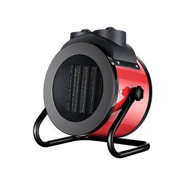 220V 2000W Electric Space Air Heater Portable Fan Winter Warmer Fast Heating