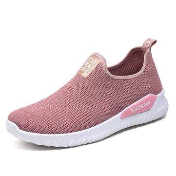 Mesh Outdoor Walking Comfy Women Sneakers