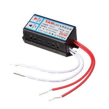 AC220V de AC12V controlador del adaptador transformador de iluminación de la fuente de alimentación 20w para LED G4 lámpara de la luz de chip