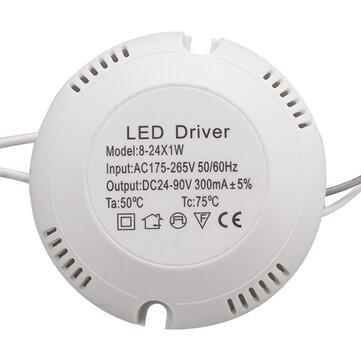 AC180V-260V 8-25w LED controlador de fuente de alimentación para la lámpara del techo
