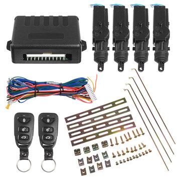 LB-501 Universal 4 Door Remote Control Car Central Lock Locking Keyless Entry System