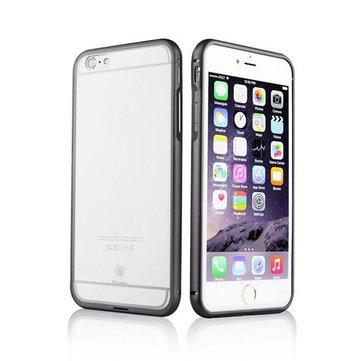 Khung ốp lưng bằng nhôm BASEUS 2 trong 1 Ốp lưng PC trong suốt cho Apple iPhone 6 6 Plus