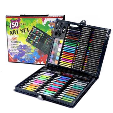 150pcs Children Colors Pencil Drawing Artist Kit Painting Art Marker Pen Paint Brush Drawing Tool