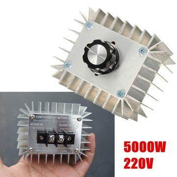 5000W AC 220V High Power Electronic Regulator SCR Voltage Regulator Module