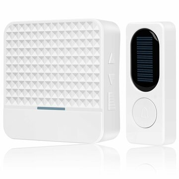 Forecum FK-D009 433Mhz Wireless Solar Doorbell Remote Wireless Doorbell Waterproof Doorbell with Night Light Doorbell from Xiaomi Youpin