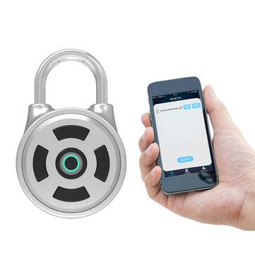 APP Intelligent Password Lock Android IOS APP Lås upp Anti-Theft Security Combination Hänglås Inomhus