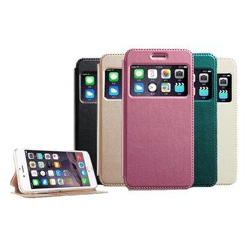 KLD Window View Bracket Case For iPhone 6 Plus & 6s Plus