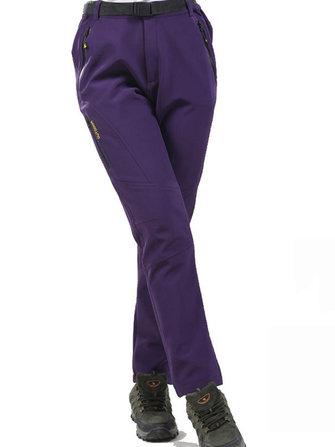Outdoor Sport Women Waterproof Breathable Climbing Hiking Trousers