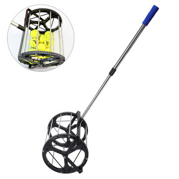 Tennis Golf Ball Picker Stainless Steel Picking Machine Outdoor Sport Baseball Picking Rod