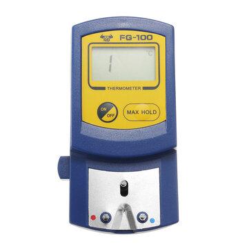 DANIU FG-100 Solda ponta de ferro Termômetro detector de temperatura testador 0-700 ℃
