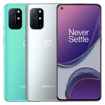 Original OnePlus 8T 5G Global Version KB2003 8GB 128GB Snapdragon 865 NFC Android 11 6.55 inch FHD+ HDR10+ 120Hz Fluid AMOLED Screen 48MP Quad Camera 65W Warp Charge Smartphone