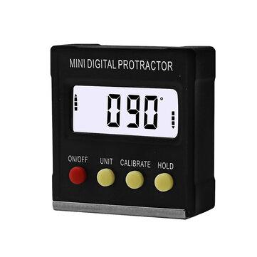 360 graders Mini Digital Protractor Inclinometer Magnetbox för elektronisk vinkelnivå