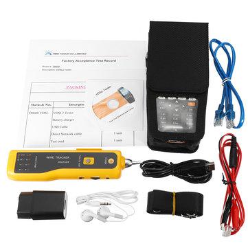 TM 600 All in One VDSL VDSL2 Tester TDRADSLVDSLOPM VFL Function Tone Tracker Capacitor