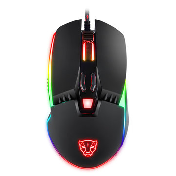 MOTOSPEED V20 Catamount 8 Buttons 5000DPI RGB Backlit Wired Gaming Mouse