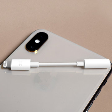 Original ZMI Lightning for 3.5mm Fast Charging Headphone Jack Cable Adapter for iPhone S8 X