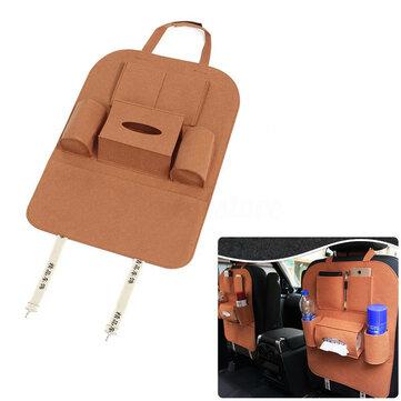IPRee® Авто Seat Back Multi Pocket Tidy Держатель для планшетов Travel Storage Сумка Универсальный аксессуар
