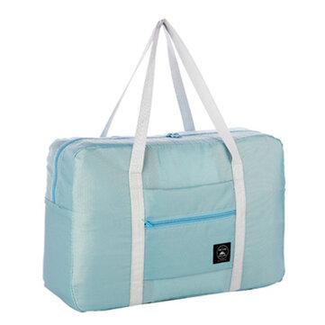 Portable Folding Luggage Storage Bags Waterproof Suitcase Travel Pouch Handbag Camping Shoulder Bag