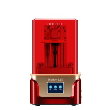 QIDI® SHADOW 5.5S UV Resin 3D Printer Kit with Double Z axis Design 2K LCD Screen Air Filter Facility