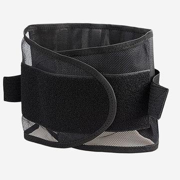 मेष सांस लेने योग्य कमर बेल्ट स्टील प्लेट संरक्षण लम्बर समर्थन बेल्ट बॉडी Shapewear