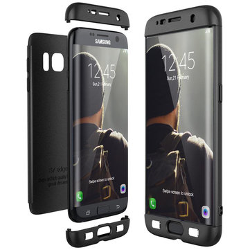Bakeey™ 3 in 1 Double Dip 360° Protective Case Hard PC Cover for Samsung Galaxy S7/S7 Edge