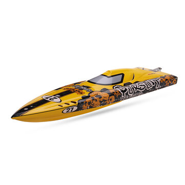 TFL 1106 Pursuit Fiberglass 82cm Brushless RC Boat Anti-Capsize without Servo Transmitter Battery Charger