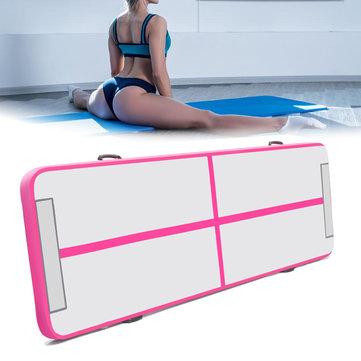 200x200x20cm Inflatable Gymnastics Mat Airtrack Yoga Mattress Floor Tumbling Pad Sport Exercise