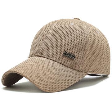 Men Women Summer Breathable Sport Baseball Cap Snapback Sun Protection Hat Visor