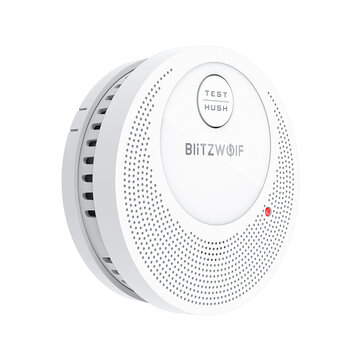 BlitzWolf BW OS1 Stand alone Smoke Detector Rechargeable Fire Alarm Sensor