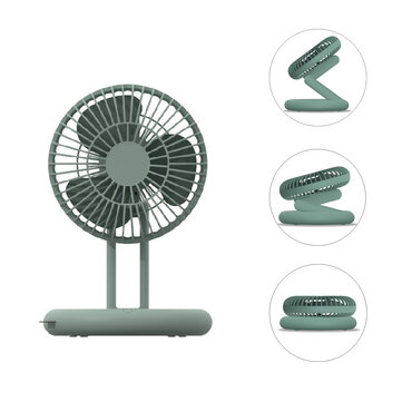 How can I buy Folding Desktop Fan 3 Speed USB Rechargeable 3 Blades Air Circulator Fan Camping Travel with Bitcoin