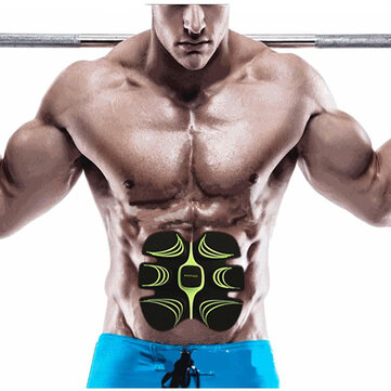 Fitpad Smart Electronic ABS Abdominal Muscle Building Equipment Body Shaper Fitness Gel...