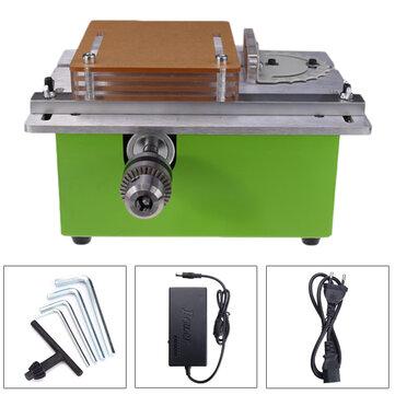Raitool™ 12-24V Bench Top Table Saws Electric Wood Cutting Polishing Carving Machine