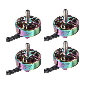 B-65 2306.5 1900KV 6S Colorful Brushless Motor 2 CW & 2 CCW for 200-250mm 5 Inch RC Drone FPV Racing