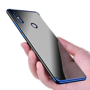 Bakeey Luxury Ultra-Thin Plating Soft TPU Protective Back Cover Case For  Xiaomi Redmi S2/ Redmi Y2