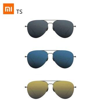 Original Xiaomi Mijia TS Nylon Polarized Sunglasses Unisex 304H Stainless Steel 100% UV_Proof Sunglass Colorful RETRO Fashionable Sunglasses for Fishing Driving Travel