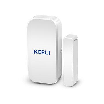 KERUI D025 433MHz Wireless Magnetic Door Window Alarm Sensor Detector Contact System