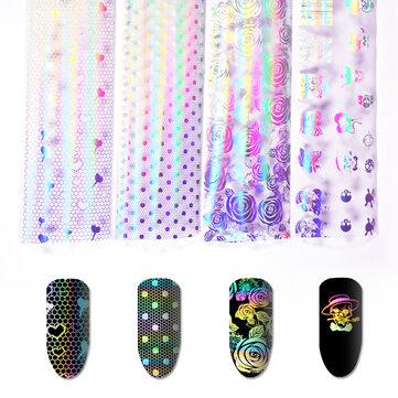 Nail Art Sticker Symphony Star Paper Set UV Gel DIY Decoration Kit