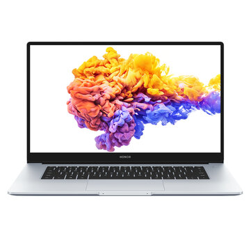 HONOR MagicBook 15 2021 Edition 15.6 inch Intel Core i5-1135G7 16GB RAM 512GB SSD 87% Screen Ratio 100% sRGB 42Wh Battery WiFi 6 Fingerprint Type-C Fast Charging Notebook