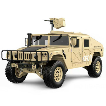 $396 for HG P408 Upgraded Light Sound Function 1/10 2.4G 4WD 16CH 30km/h Rc Model Car U.S.4X4 Truck