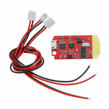 Dc 3 7v To 5v 3w Digital Audio Amplifier Board Dual Plate Diy Bluetooth Speaker Modification Sound Music Module Micro Usb Sale Banggood Com