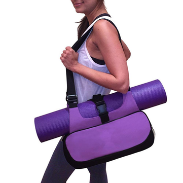 Yoga Mat Canvas Bag Multifunctional Backpack Shoulder Messenger Sport Bags For Women Fitness Duffel