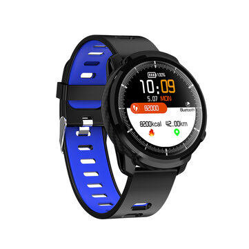 Bakeey S10 Full Touch HD Screen IP67 Wristband Blood Pressure and Oxygen Monitor Weather Display Smart Watch