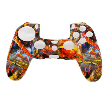 Camouflage Army Soft Silicone Gel Custodia protettiva per skin per PlayStation 4 PS4 Game Controller