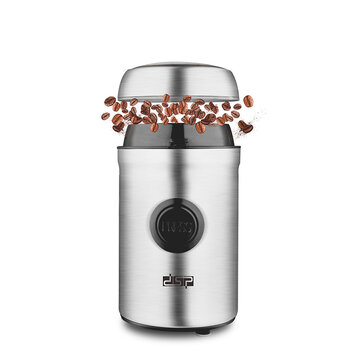 DSP KA3045 Electric Grinder Coffee Bean Grinder Household Mini Portable Small Semi Automatic Grinder Coupon Code and price! - $46