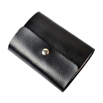 Men Women Genuine Leather Credit Card Holder Multicolor 26 Card Slots Card Holder