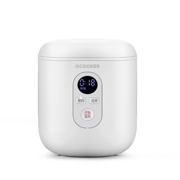 OCOOKER QF1201 Mini Rice Cooker 300W Smart 1.2L Kitchen Appliances Rice Cooker From Xiaomi Youpin