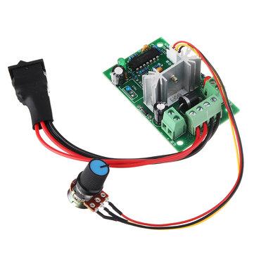 6V 12V 24V PWM DC Motor Governor Electronic Stepless Speed Controller Regulation Brushless Motor Inverter Switch CCW CW