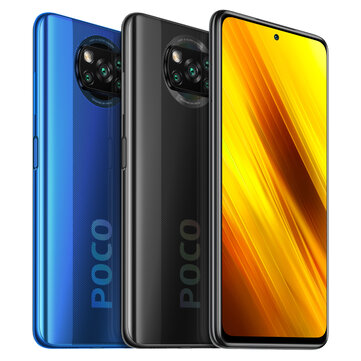 POCO X3 NFC Global Version Snapdragon 732G 6GB 128GB 6.67 inch 120Hz Refresh Rate 64MP Quad Camera 5160mAh Octa Core 4G Smartphone