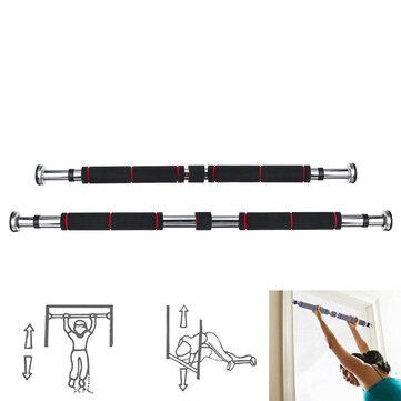 62-100/82-130cm Pull Up Bar Adjustable Door Horizontal Bars Fitness Training Exercise Tools Max Load 160kg