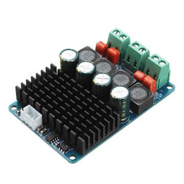 TPA3116 PBTL DC 11-26V Dual Channel 2x100W Digital Power Amplifier Board 2 Chips Stereo High Power Amplifier Board Audio Input 2.54mm 3 Pins Socket