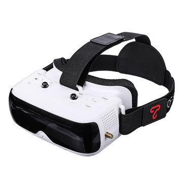 TOPSKY Prime1S 5.8G 48CH 2,4 tums FPV-glasögon Mångfaldsmottagare Inbyggt batteri DVR för RC Drone